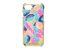 Lilly Pulitzer iPhone 7 Saffiano Hard Cover, Goombay Smashed, NIB