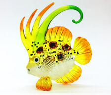 Sea Fish Crest Hand Blown Blowing Glass Art Animal Fancy Collectibles Gift V.4