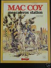 MAc Coy MESCALEROS STATION Comic Art GOURMELEN PALACIOS