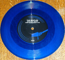 "*<* BEATLES UK-only BLUE VINYL 45 ""MY BONNIE"" (German intro): ONLY 2000 PRESSED!"