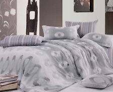 Ardor AIDEN 250TC 100% Cotton Quilt Doona Cover Set  SINGLE DOUBLE QUEEN KING