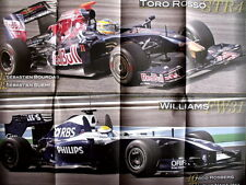 Poster 70X55 - TORO ROSSO STR4 - WILLIAMS FW31 [AS3] -64