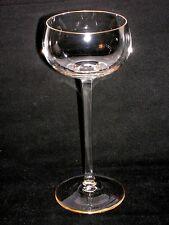Jugendstil Weinglas Theresienthal um 1903 Vierkantstiel quadratisch