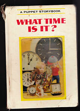 Puppet Storybook What Time Is It? Japan T Izawa 1968