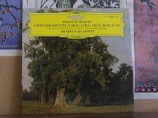 SCHUBERT STREICHQUINTETT AMADEUS QUARTETT DGG LP 139194