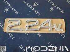 Maserati Schriftzug Kofferraum Trunk Emblem Sign Biturbo 224v 2.24v 318353369
