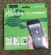 HUNTER 99107 SimpleConnect Bluetooth Programmable Ceiling Fan Controller