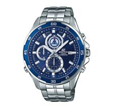 EFR-547D-2A Blue Edifice Casio Men's Watches Analog 100m Steel Band New