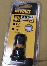 Official Dewalt DT7508-QZ 1/2 Inch X 1/4 Inch Impact Adaptor
