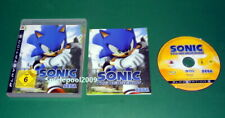 Sonic The Hedgehog mit Anleitung und OVP fuer Sony Playstation 3 PS3