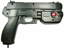 "AimTrak Light Gun Boxed ""BLACK"" With NEW RECOIL(Excl PSU) works on mame/ps2/ps3,"