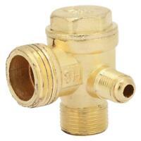 Valvola di ritegno Compressore aria unidirezionale Collegare gli accessori tubi