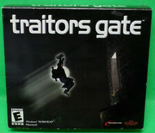 Traitors Gate PC CD-ROM WIndows 95/98/ME/XP by Dream Catchers 2000 *NEW*