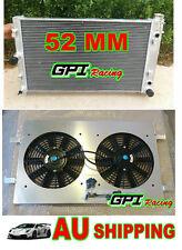 aluminum radiator &SHROUD +FAN HOLDEN Commodore VZ LS1 LS2 SS V8 AT/MT 04 05 06