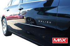 "2016-2017 Chevrolet Malibu Lower Chrome Streamline Side Door Body Molding 1/2"""
