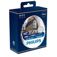 Philips RacingVision Blister 2 Lampade H7 +150% Luce Più Bianca