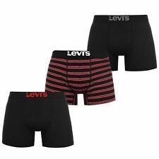 Levis 3 Pack Boxers Mens Gents Underclothes Boxer Cotton