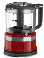 Red 3.5 Cup Mini Food Processor Kitchen Chopper Mixer Multi Electric Blender NEW