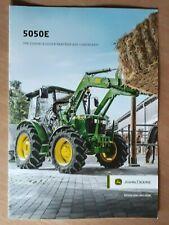 John Deere            5050 E            Brochure / Prospekt  2018 !!!