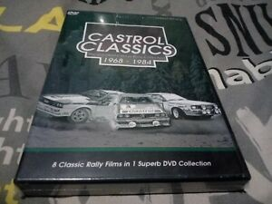 CASTROL CLASSICS ~ BP library.  new sealed  * 4 DVD SET * 8 Classic Rally Films
