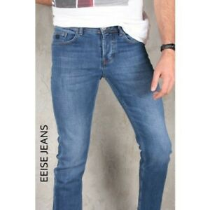 Men's Slim fit jeans Casual Denim Pants Comfort Quality Trousers