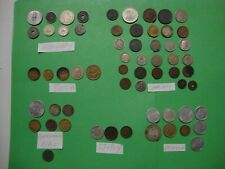 New ListingLot Of 61 Vintage Old Coins Europe-Russia-Germany-Ita ly-France-Hungary-Others