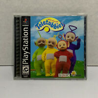 Play With The Teletubbies (Sony PlayStation 1, 2000) COMPLETE! TESTED & CLEANED!