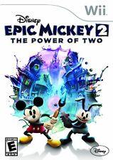 Nintendo Wii PAL version Epic Mickey 2 el poder de dos