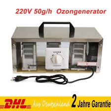 50g/h Ozon Ozongerät Ozonisator Ozongenerator Luftreiniger Mit Zeitschalter 220V
