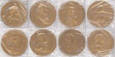"US MINT 38 TOTAL PRESIDENTS SEALED BRONZE MEDAL SET 3"" SOLID HEAVY MEDALLION LOT"