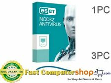 ESET NOD32 ANTIVIRUS per 1PC / 3PC - Fatturabile