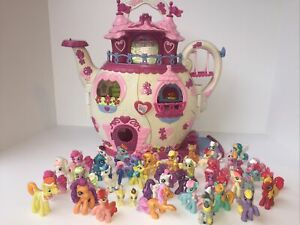 My Little Pony Mini Tea Kettle House & 40 Minifigures