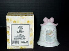 Precious Moments Holiday Bell ~ GIRL WITH BIRDS ~ Hard To Find ~#869805 ~ NIB