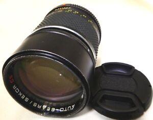 Sears Sekor 135mm f2.8 CS Lens Manual Focus lens