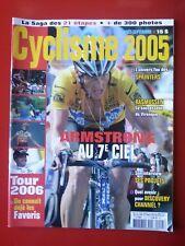 CYCLISME 2005 n°15 TOUR DE FRANCE 2005 TOUTES LES ETAPES ARMSTRONG