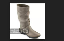 a98fea02e03 NEW HOTTER MYSTERY LEATHER SUEDE BOOTS SIZE UK 5 EXTRA WIDE FIT EWF EE RRP £