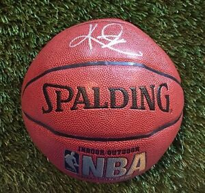 KYRIE IRVING CAVALIERS Signed NBA INDOOR/OUTDOOR Basketball JSA/COA P34439 CHAMP