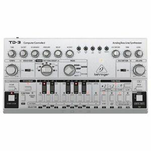 Behringer TD3 SR 303 Analogue Bass Line Synthesiser & Sequencer (silver)