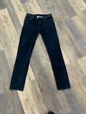 Acne Studios Blå Konst North Blue Black jeans Mens Size 33x34