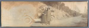 Panorama Kodak, le voyage de Philippe VIII duc d'Orléans, 1907 Vintage silver pr