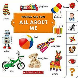 All about Me Words Are Fun Board Books Scholastic