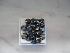 Natural Black Moissanite 7mm,8,mm 9mm