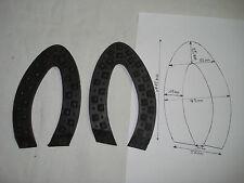 2 bandes crantées n°2 pour sabot de bois woold milne