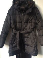 COACH puffer 3/4 black down coat, size XL (16UK)