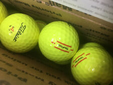 Titleist Yellow TruFeel.....12 Near Mint AAAA Used Golf Balls...FREE SHIPPING!