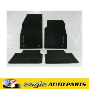 OPEL INSIGNIA FRONT & REAR BLACK CARPET FLOOR MATS GENUINE GM # 13333703