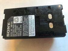 Battery Pack for Sony NP-66 6V 1400mAh
