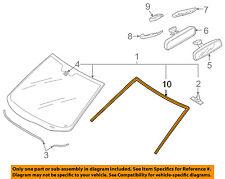 MAZDA OEM 07-15 CX-9 Windshield-Reveal Molding TD1150601