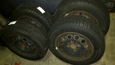 1 Satz 4 Winterreifen 185/65R14 86T Ford Focus, Escort, Mondeo Hankook DOT2114