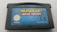 Mario Kart Super Circuit Nintendo Game Boy Advance GBA Works! Authentic